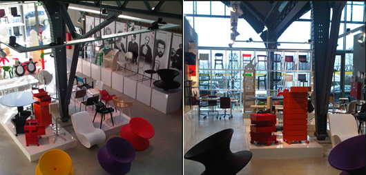 magis opened its own showroom at design post in cologne. Black Bedroom Furniture Sets. Home Design Ideas