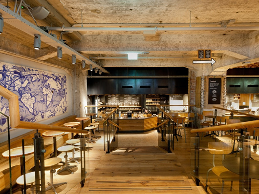 Starbucks Opens First European Concept Store In Amsterdam