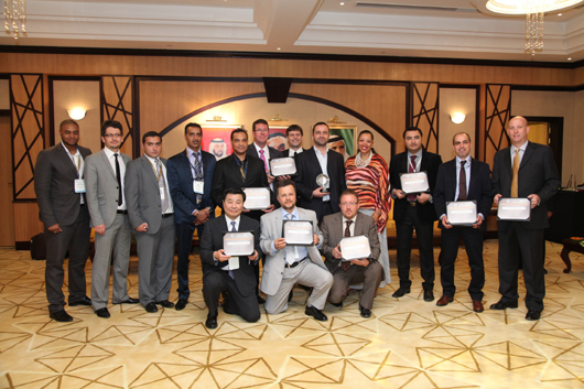 three best product design awards received at the dubai interior office exhibition design competition
