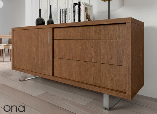 Ona the new dining room collection from baixmoduls sets - Buffet para comedor ...