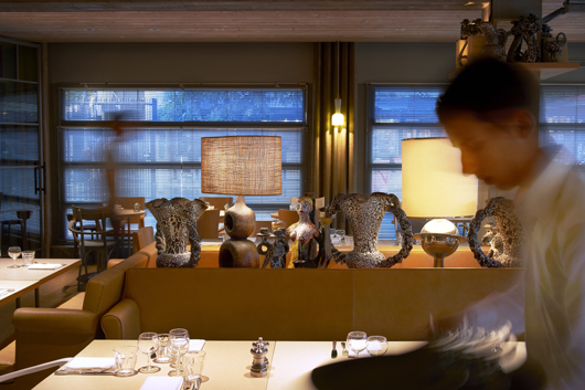 ma cocotte the new restaurant by philippe starck in saint. Black Bedroom Furniture Sets. Home Design Ideas