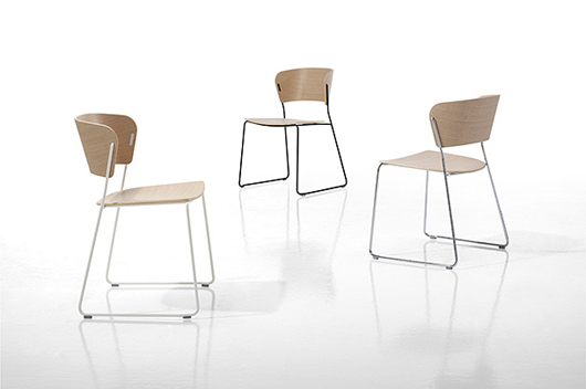 The arc chair designed by yonoh for inclass company wins for Chair design awards