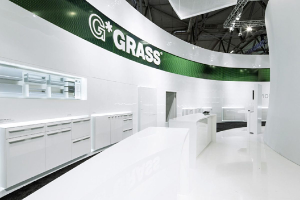 Austrian company GRASS celebrates successful debut of new drawer Vionaro in Interzum