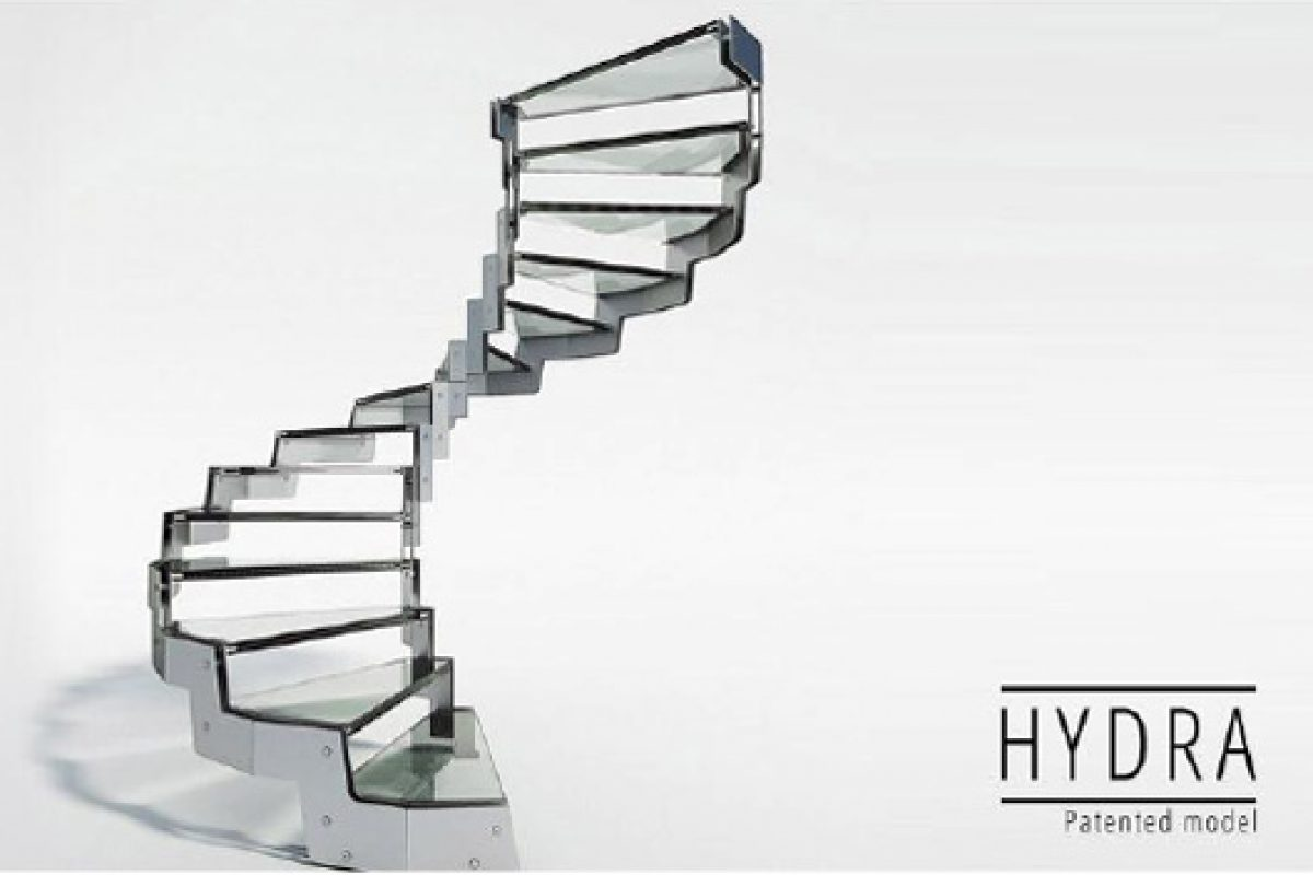Executive Line Stair: The new line of ladders created by Rintal to develop high design projects