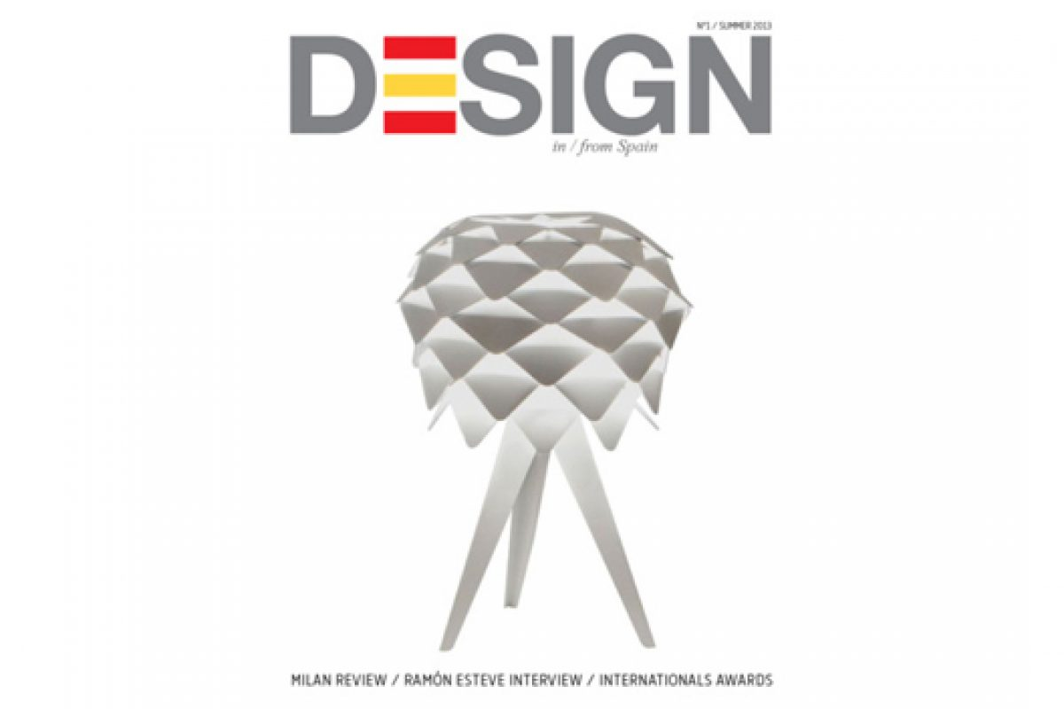 "ICEX presents the new magazine ""Design in/from Spain"" for iPad"