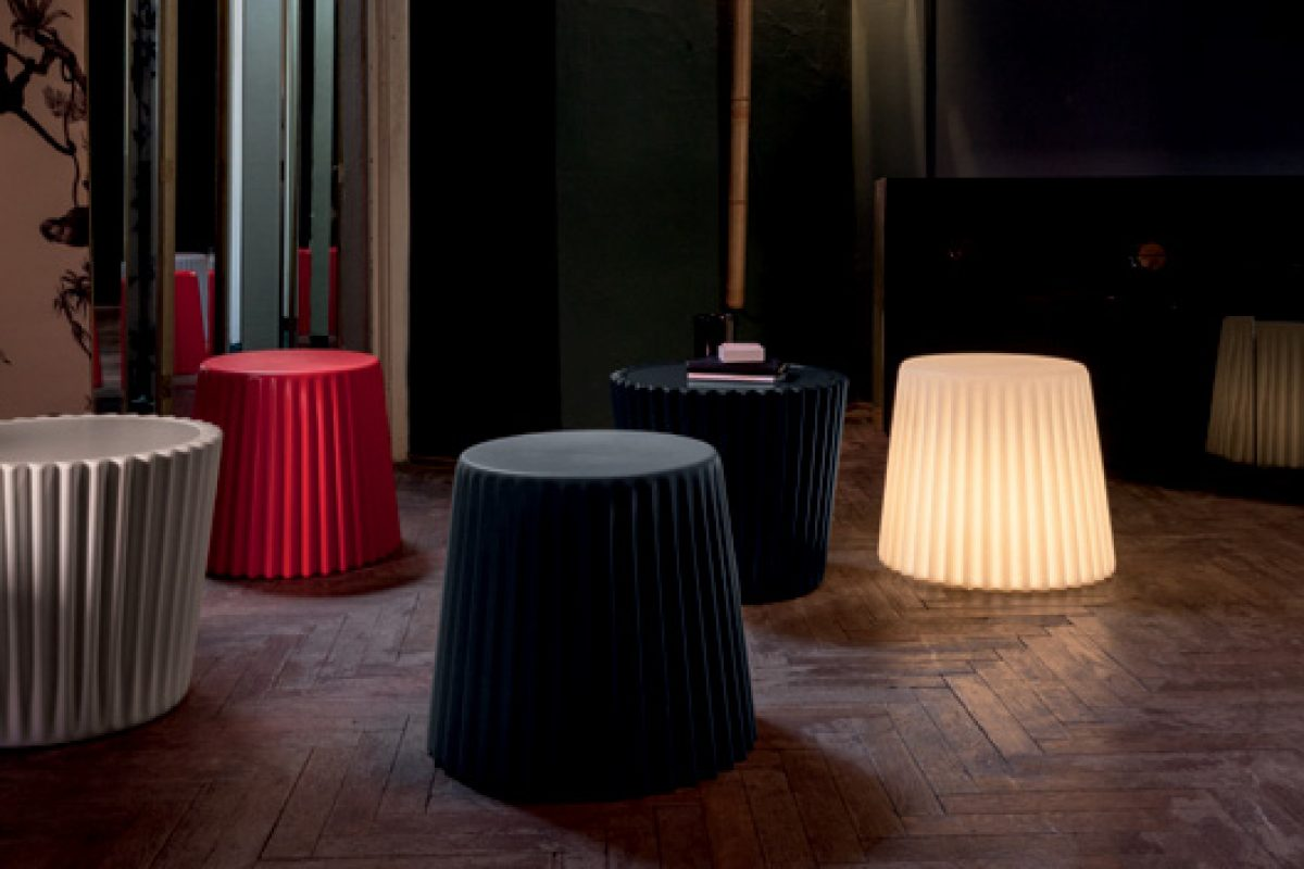 Bonaldo furnishes with light in its Kadou and Muffin collections designed by Ryosuke Fukusada