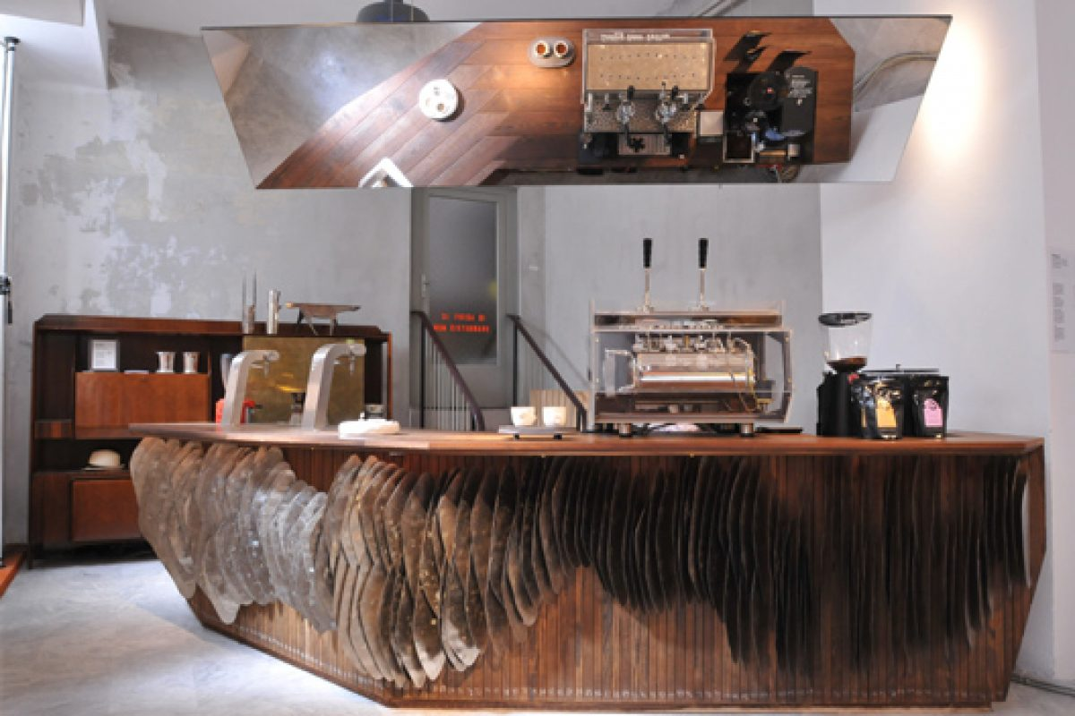 Kebony presents the Kebony coffee bar, for the environmentally-conscious coffee lover