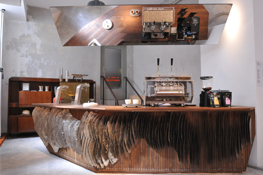 Kebony Presents The Kebony Coffee Bar For The