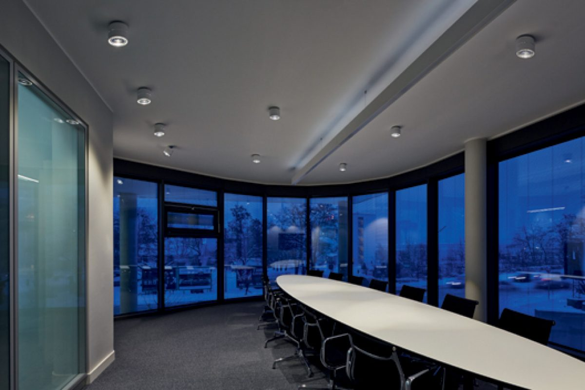 Occhio lighting contributes to LEED certification of the NuOffice building in Munich