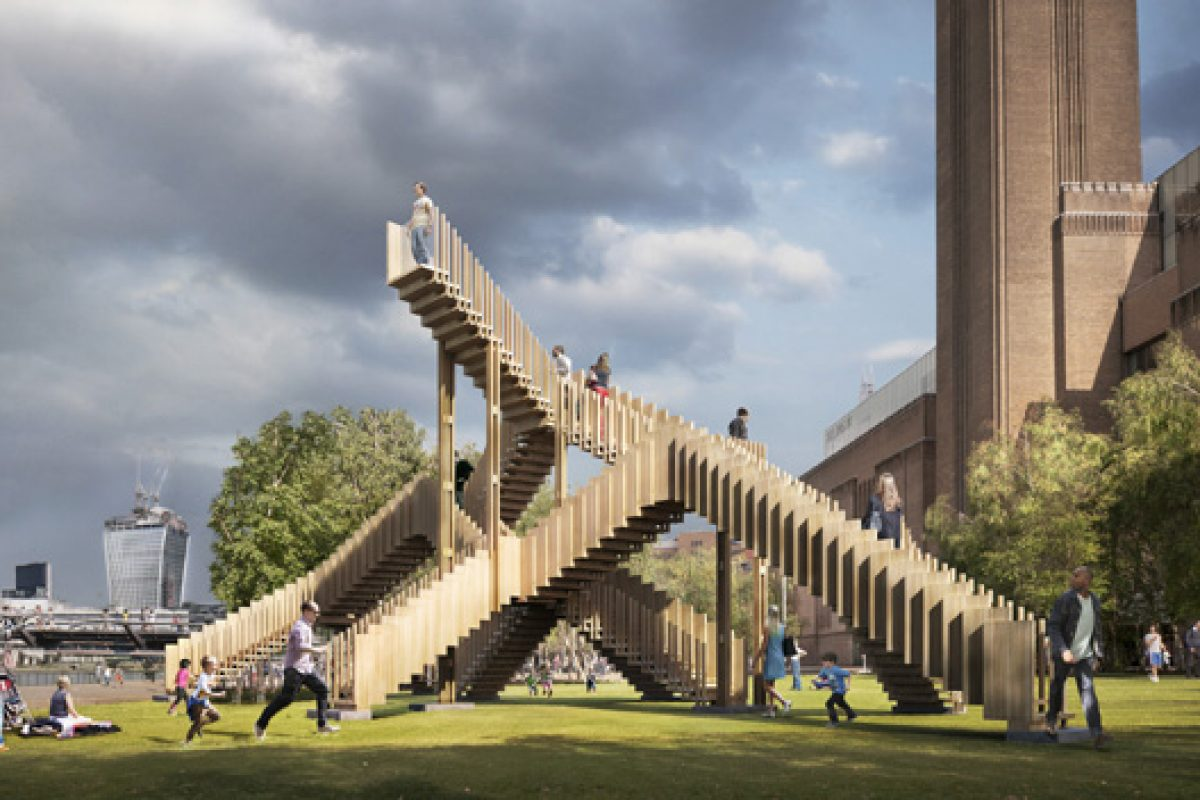 Endless Stair. dRMM Architects take climbing stairs to new heights for the London Design Festival