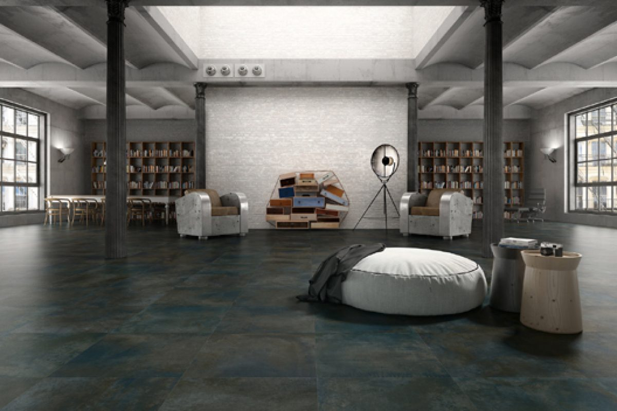 Keraben presents its new tile collection, Scenario 75, at Cersaie 2013