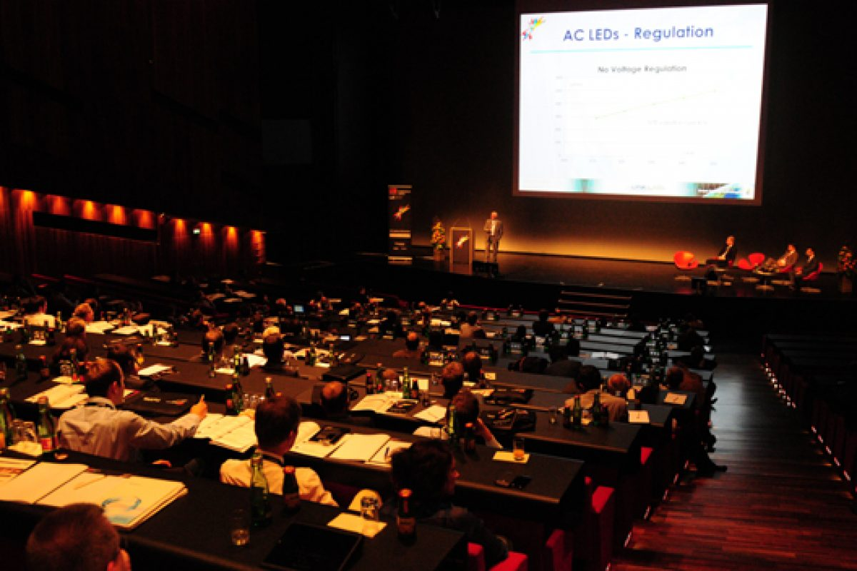 LED professional Symposium + Expo 2013. The Hub for Innovation and Developments in LED & OLED Lighting Technologies