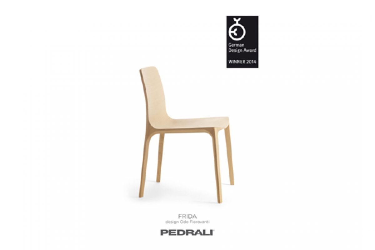 Italian company Pedrali wins German Design Award 2014 for Frida chair