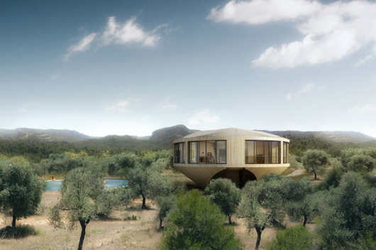 Round Homes Designs: Solo Houses Unveils The Latest Marklee Johnston Project In