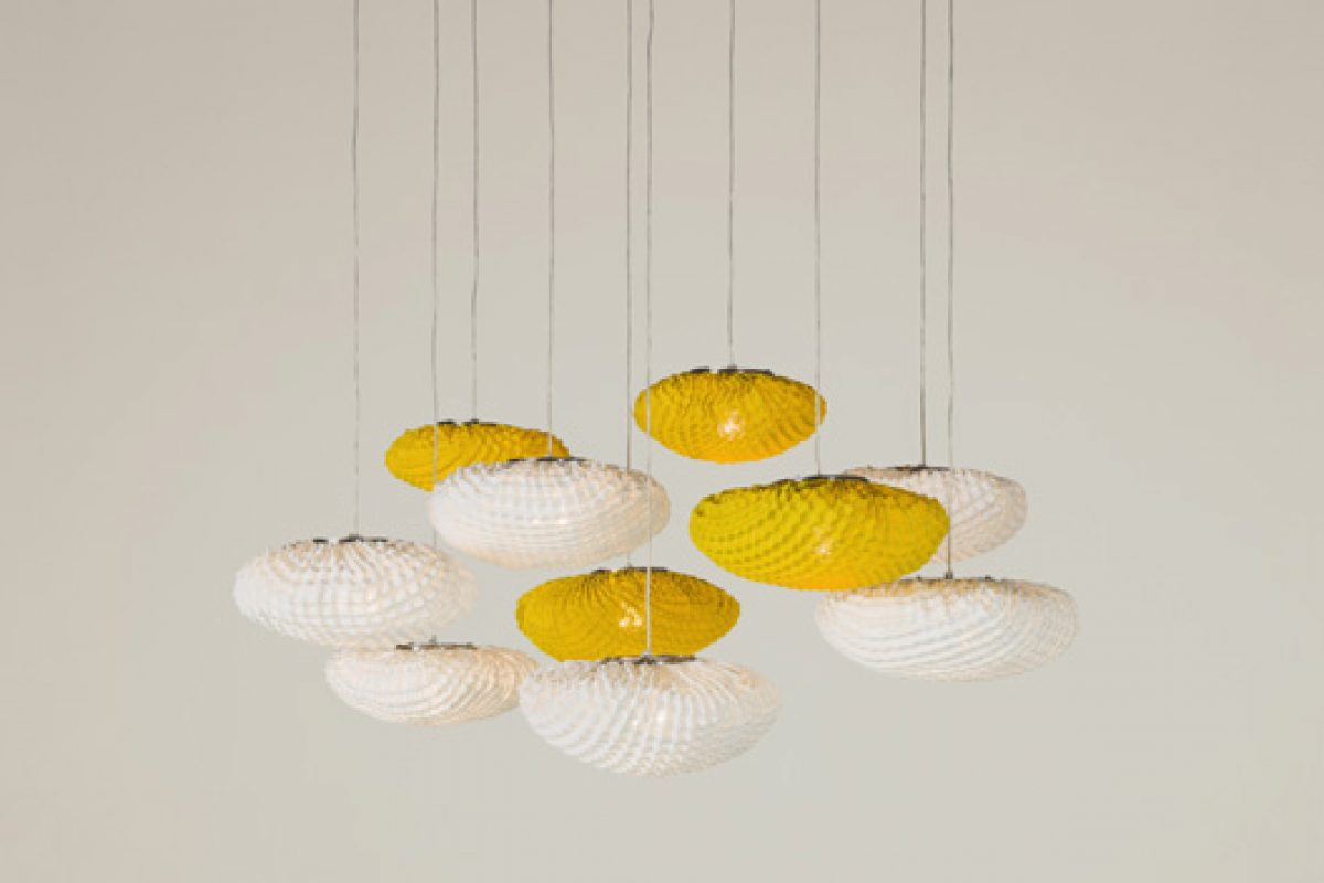 Tati suspension lamp by Arturo Alvarez. Beauty in composition