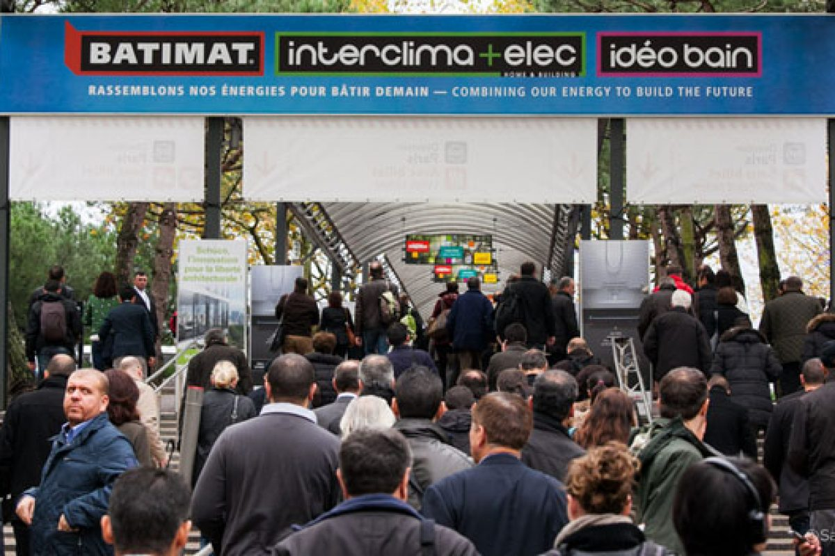 Batimat, Interclima+Elec and Ideobain close doors creating  the world's number 1 building and architecture exhibition