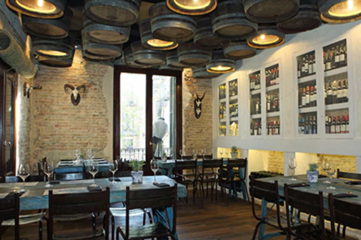 "Casa Guinart, designed by Dissenyados, ""Best Restaurant Design"" at the Retail Week Interiors Awards 2013"
