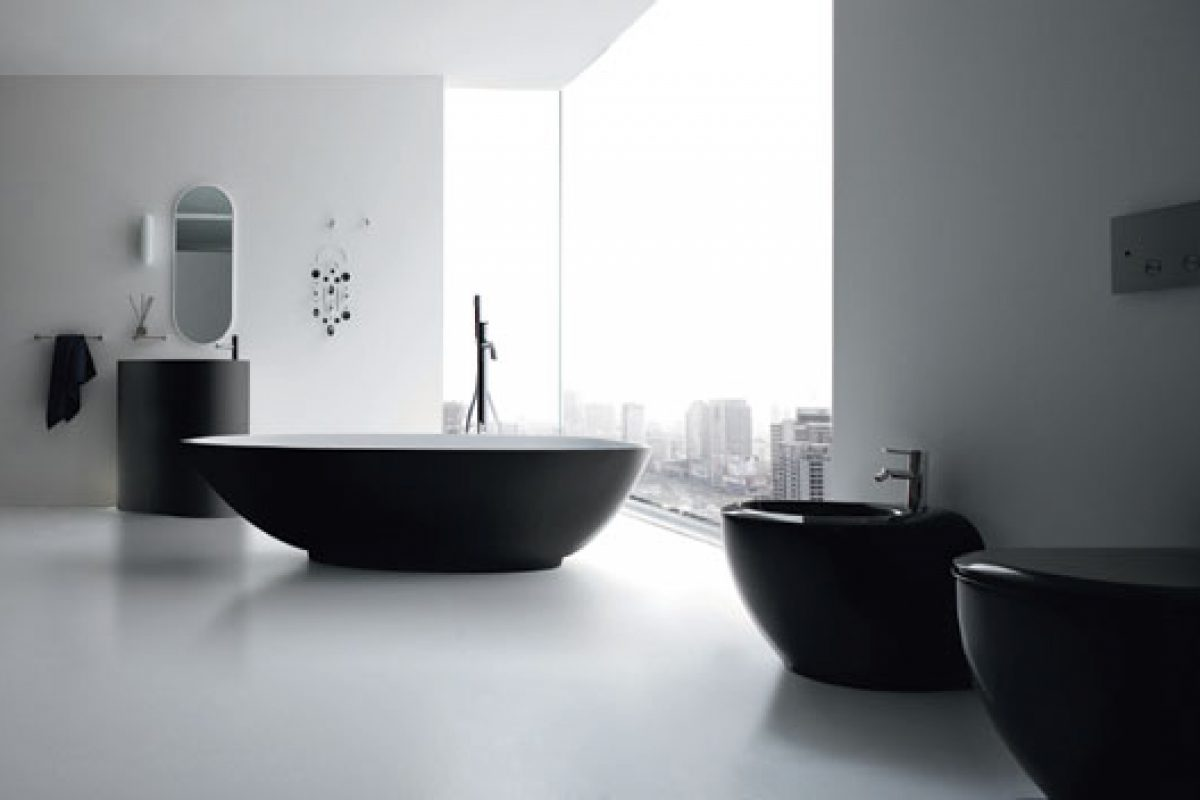 Boma bath collection by Rexa Design, soft rounded volumes created by Imagino Design