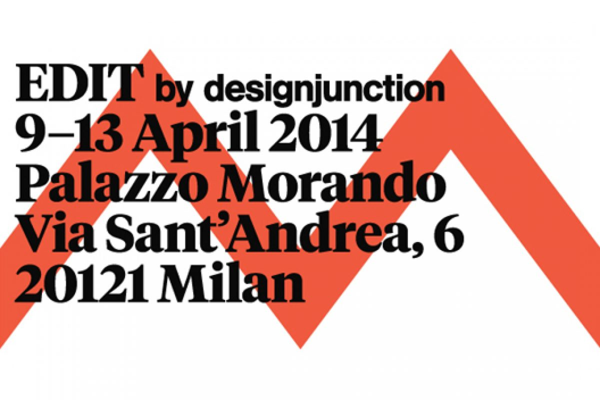 EDIT by designjunction announces international brands displayed in Milan