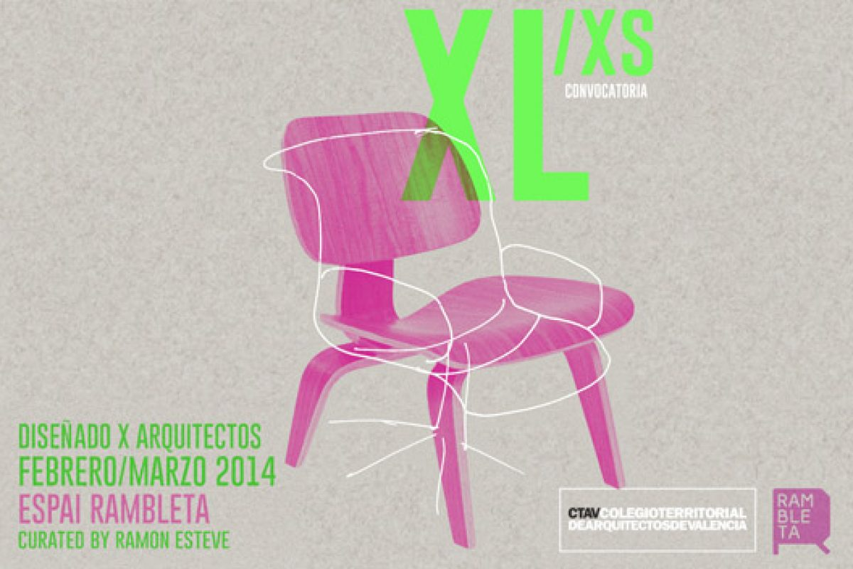 Valencia will host the 'XL/xs Designed by Architects' exhibition in February, curated by Ramón Esteve