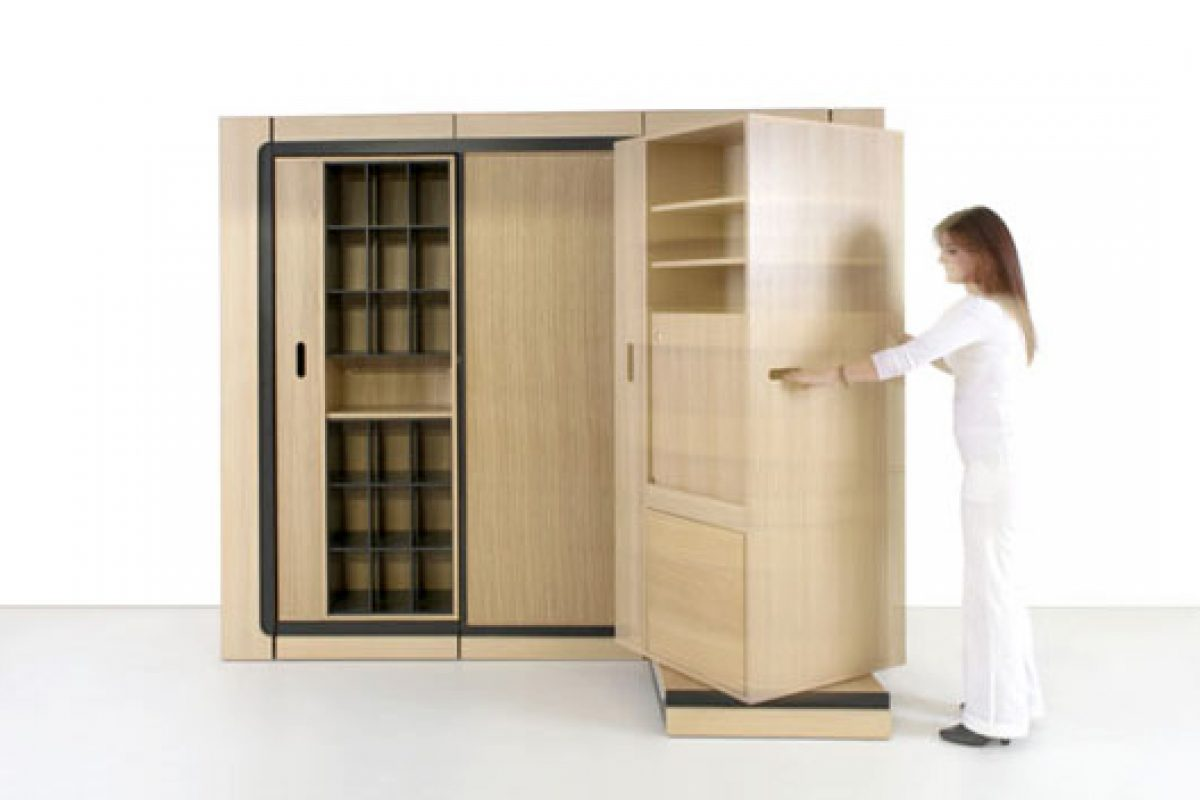 HIC&UBIQ, an innovative modular storage solution designed by Eric Jourdan for Menuiseries Ferreyrolles