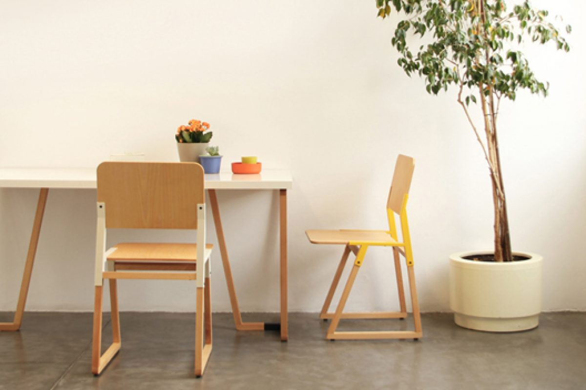 New NOEM range of furniture, by Nutcreatives, based on the criteria of ecoinnovation