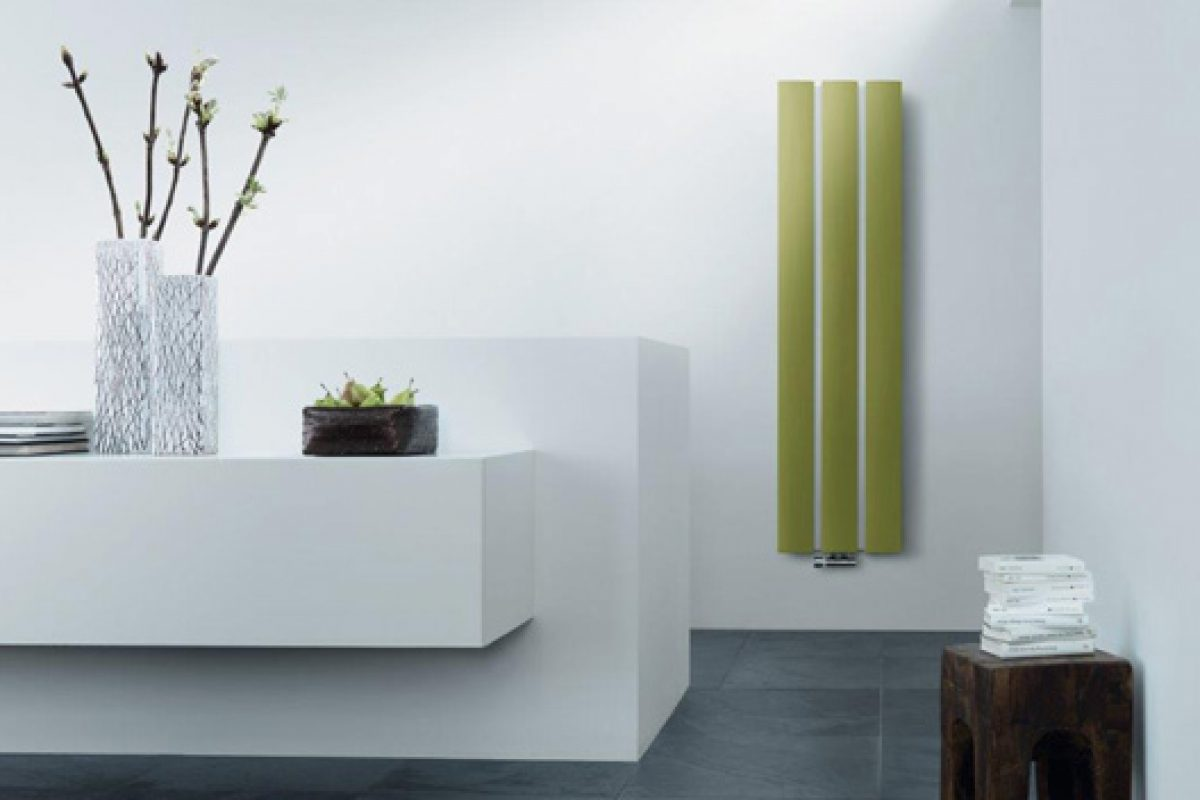 Stecca, design radiators by Runtal made with DuPont™ Corian®