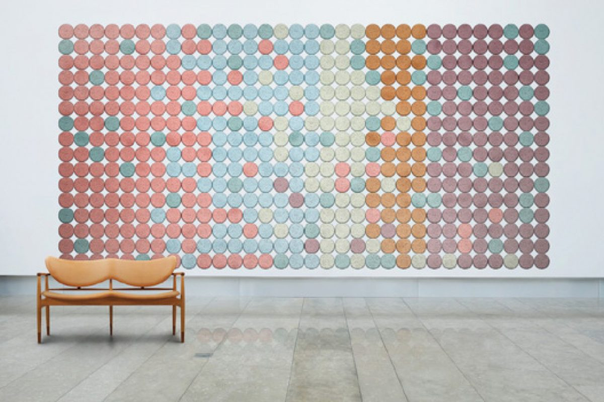 New acoustic panels designed by Form Us With Love studio for Baux new brand