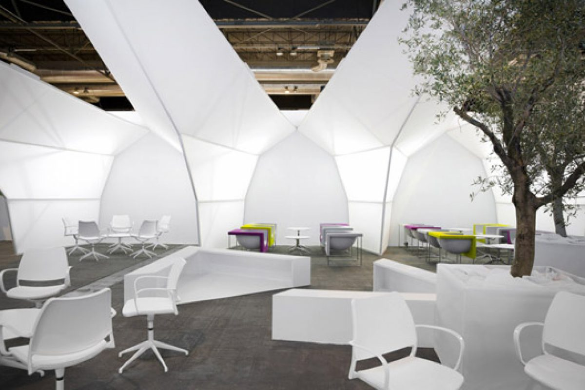 Emmanuel Romero Architects and Stua design the ARCO Madrid 2014 show VIP Area