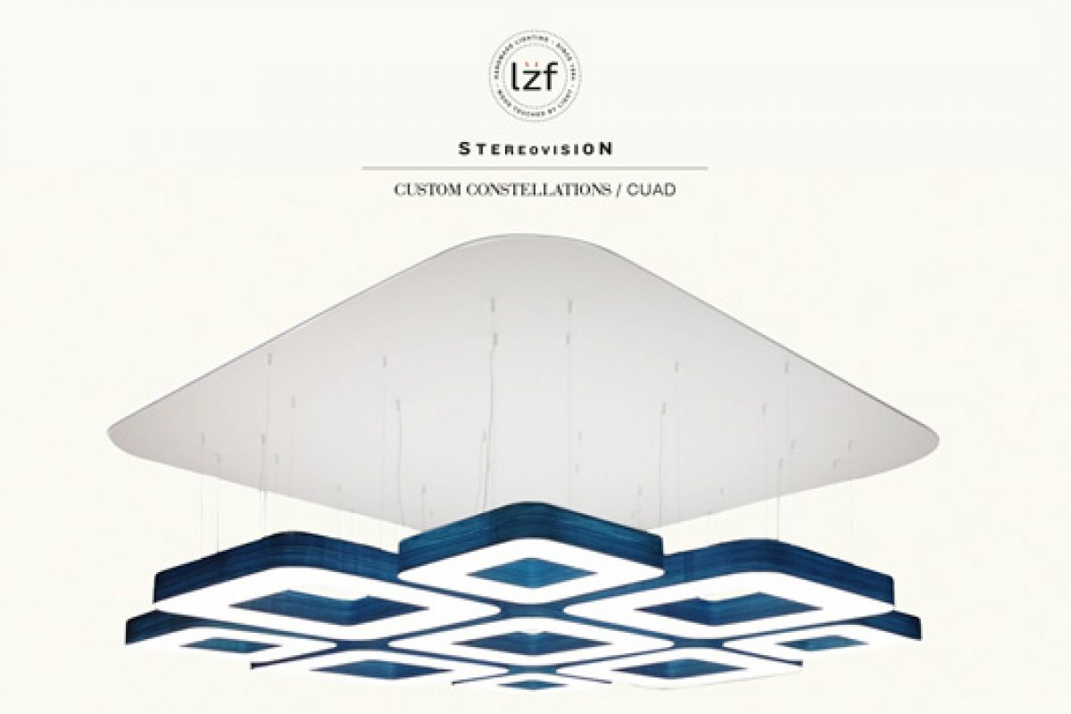 Lzf Lamps presents the Custom Constellations from its Stereovision campaign at Light + Building 2014