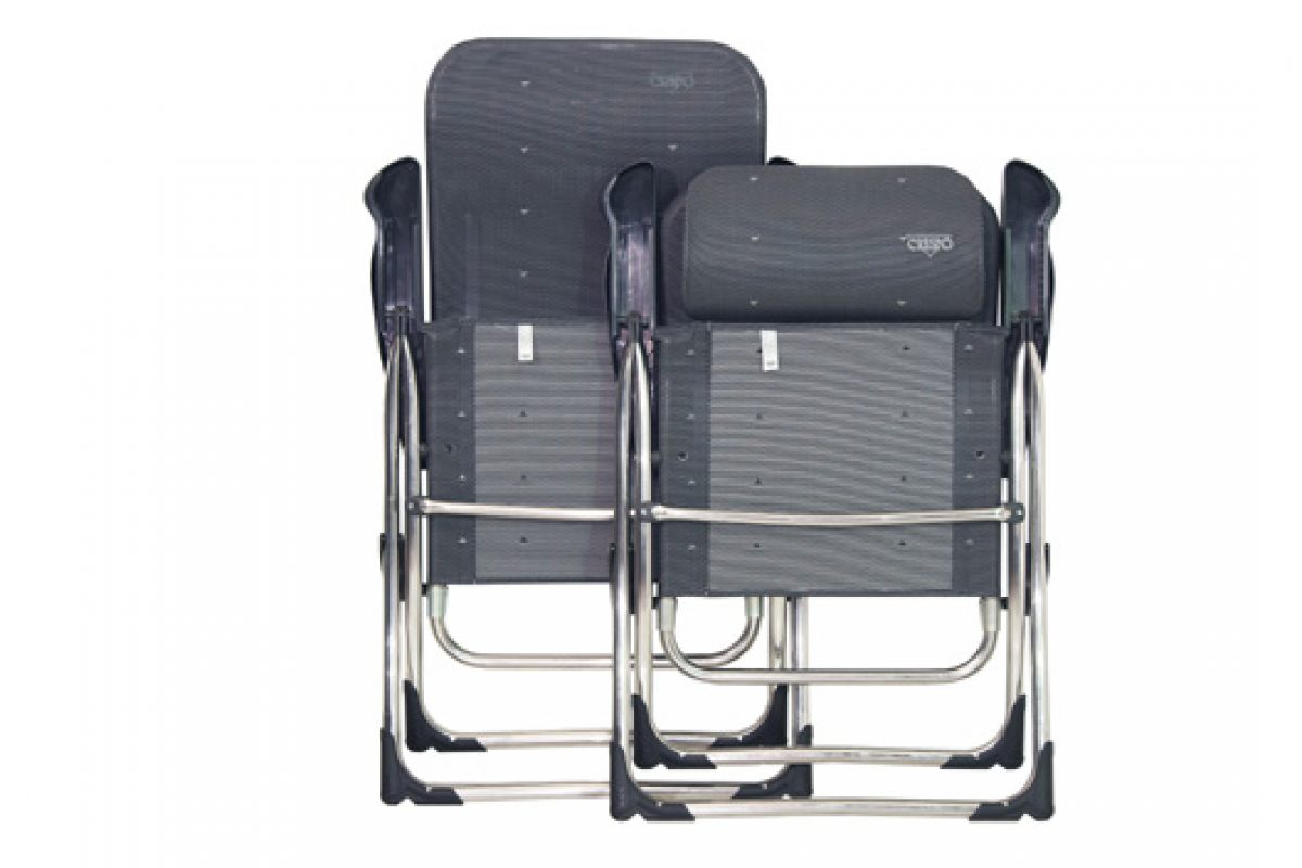 Compact, the new armchairs line by Crespo. Who says camping is not comfortable?