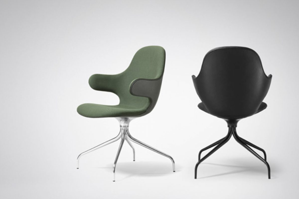 New version for the awarded Catch Chair designed by Jaime Hayon for &tradition