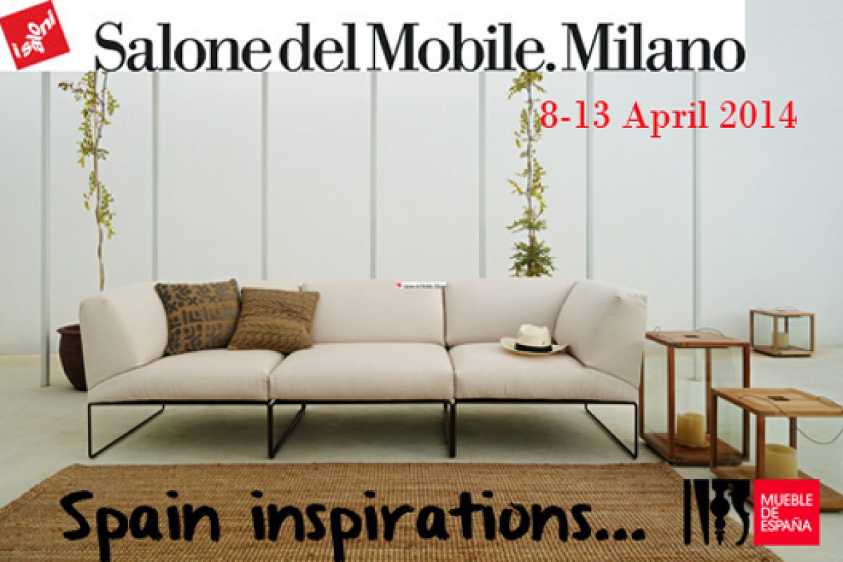 68 Spanish companies land at i Saloni Milano 2014 with latest desings Made in Spain
