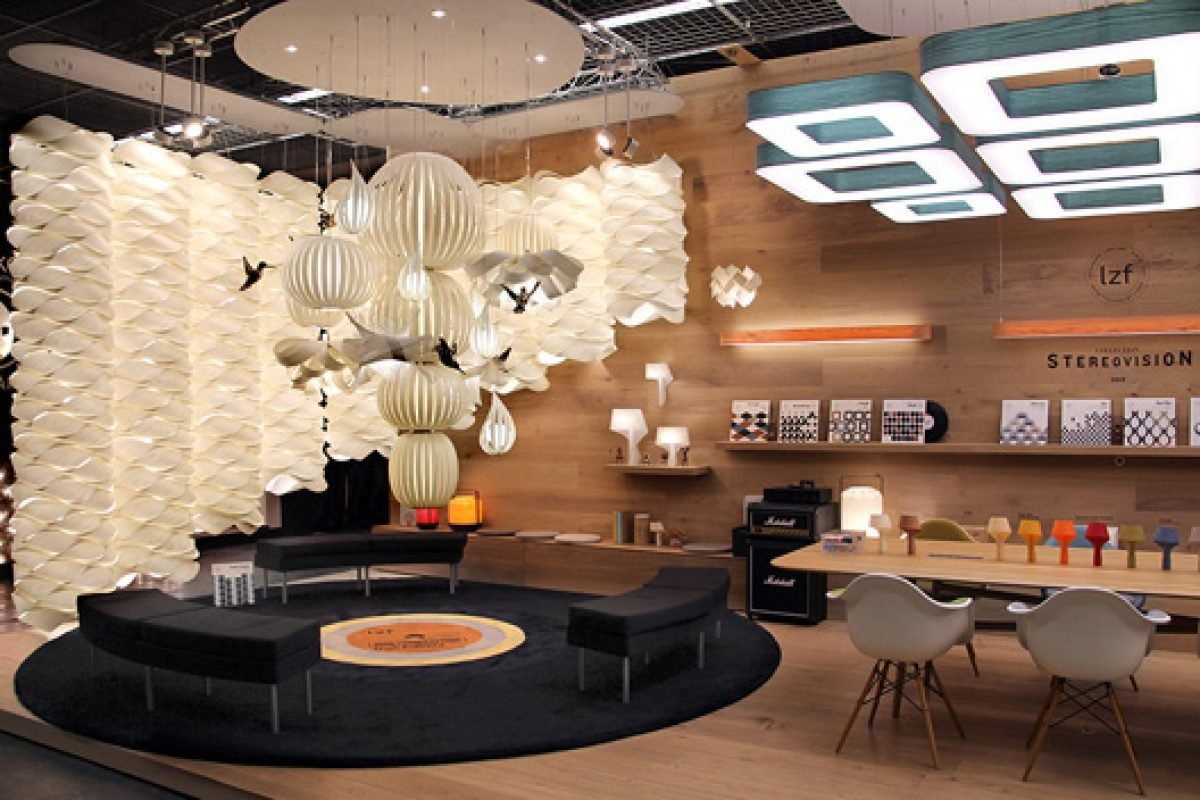 New Stereovision campaign by Lzf Lamps dazzles at Light + Building show in Frankfurt