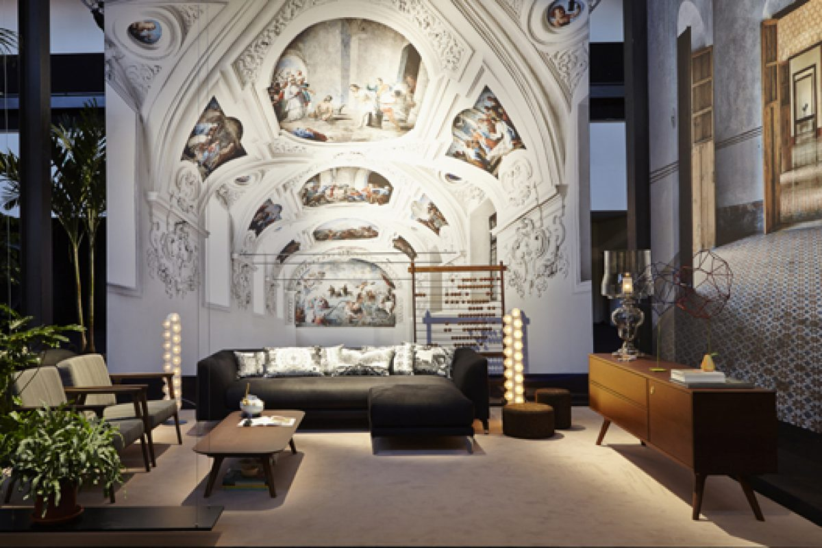 Moooi presents its new collections in Milan through spectacular exhibition wrapped in photographies by Listri
