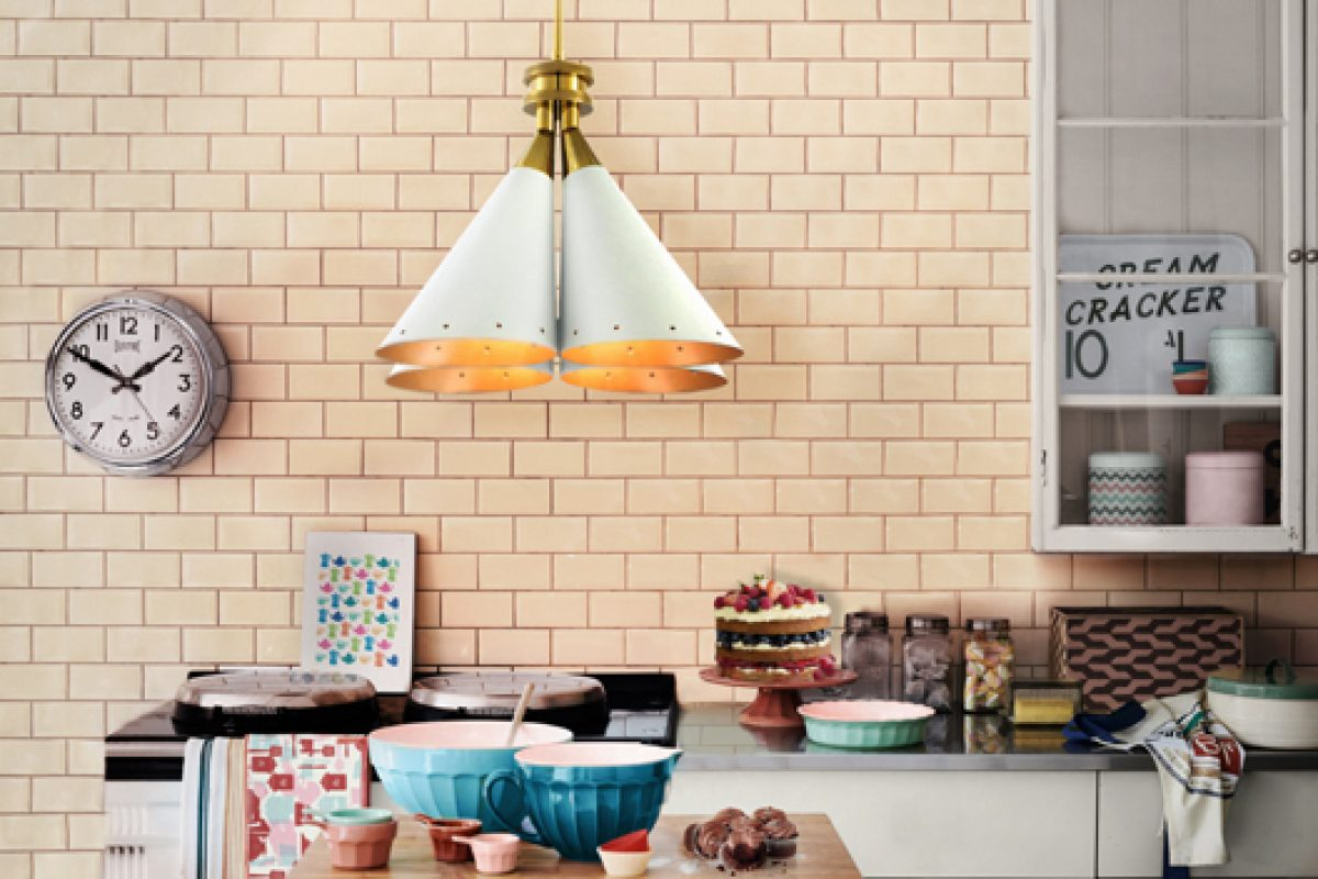 Madeleine by Delightfull. A suspension lamp inspired by flower bouquet