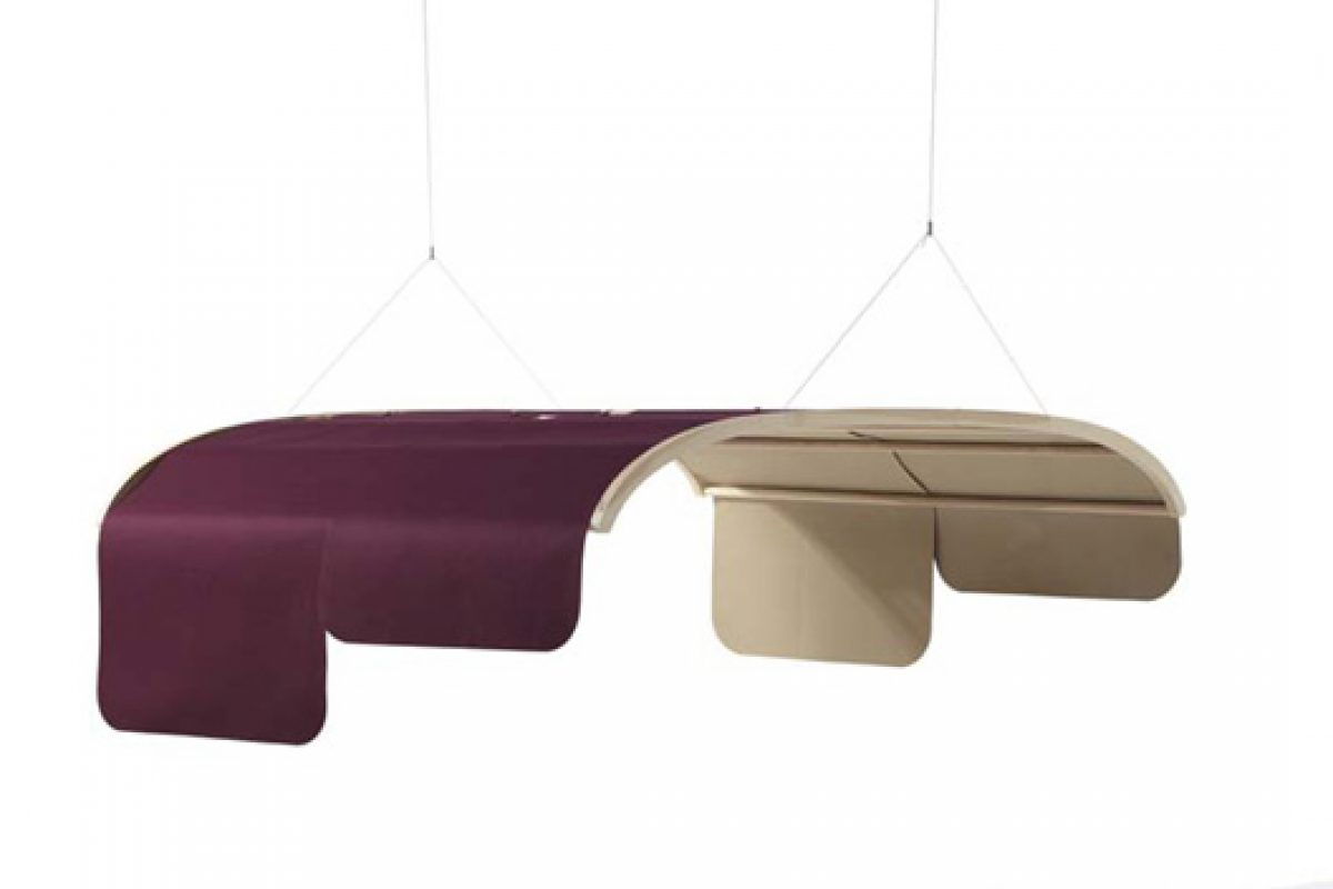 Acoustic dome Tartana designed by Nadadora for Sancal