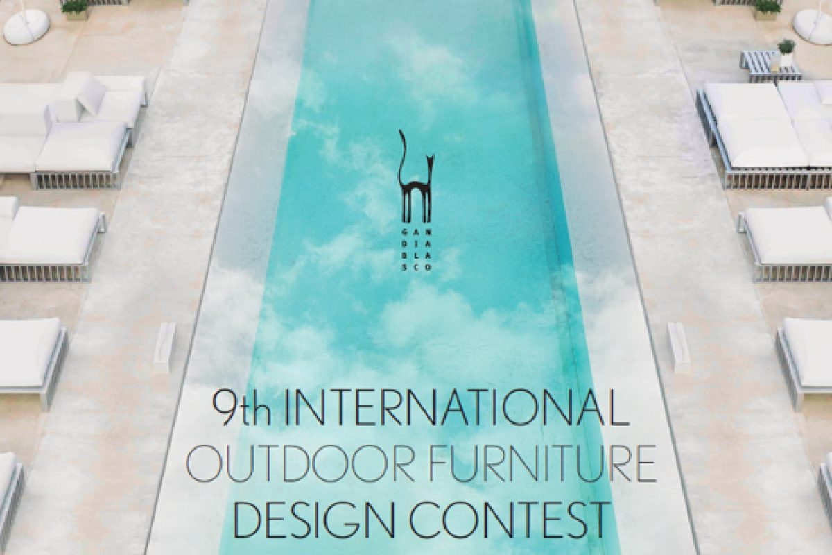 Gandia Blasco calls for entries of its 9th International Outdoor Furniture Design Contest