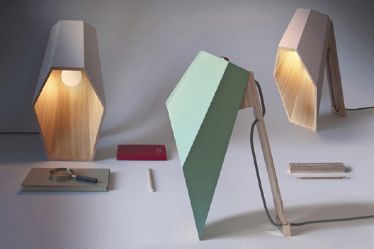 """Woodspot"" by Alessandro Zambelli for Seletti: visionary synthesis of material, light and shade"