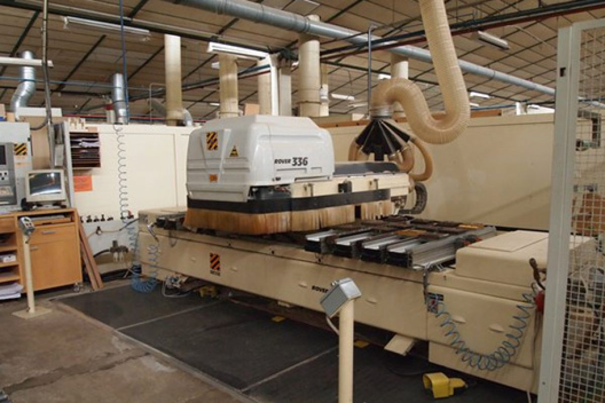 Important wood machinery auction sale of the company Azcue y Cía., in bankruptcy
