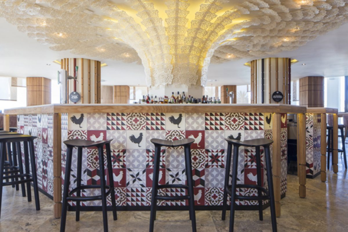 estudi{H}ac signs the interior of the two new restaurants of  Paco Roncero at Hard Rock Hotel Ibiza