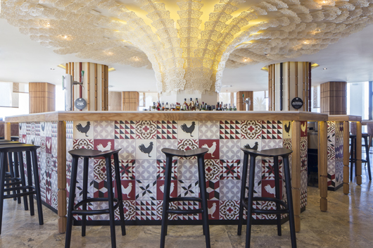 Estudi h ac signs the interior of the two new restaurants for Design hotel ibiza