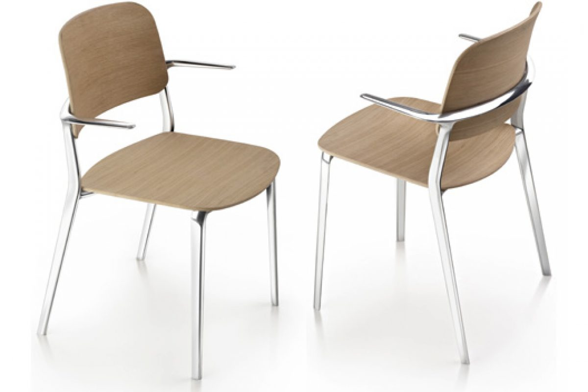 Orgatec 2014 preview: Appia Chair designed by Christoph Jenni for maxdesign