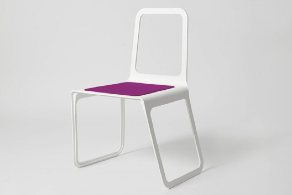 Chroma chair made with HI-MACS by Marco Hemmerling, design and comfort in perfect harmony