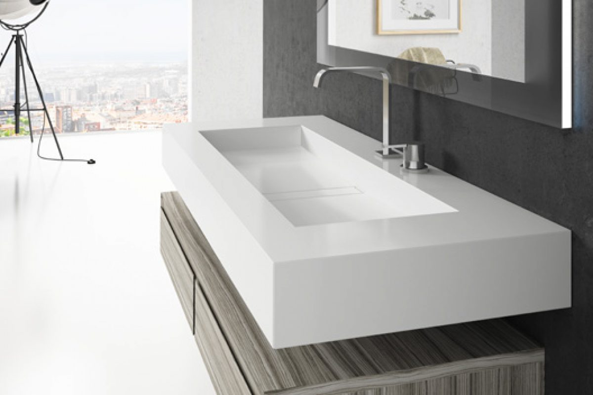 Cosentino expands its exclusive Bath Collection with the new Silence and Reflection wash basins