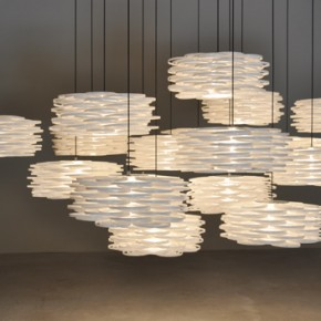 Thousand contemporary shades and a vintage touch in Aros, the pendant lamp by Arturo Alvarez