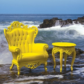 Classic style for outdoors by POLaRT, with polyurethane injected and bright colors