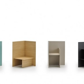 Judd, the versatile occasional furniture designed by Nathan Yong for Punt company