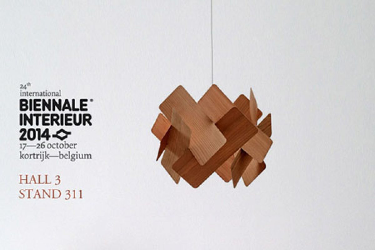 Lzf Lamps premiers at Belgian Biennale Interieur by the hand of its exclusive distributor Dark