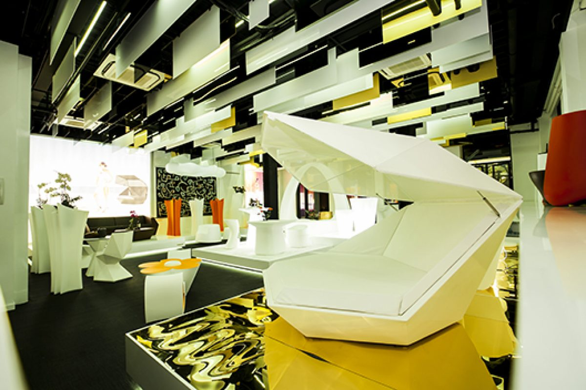 Vondom opens new flagship store in Shanghai, designed by A-cero Architectural studio
